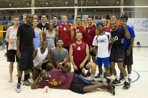 2013 UVI Men's Teams with VI Team